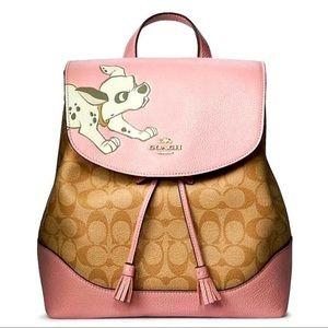 Coach x Disney 101 Dalmatians Dog Backpack